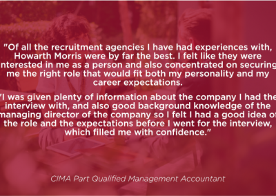 CIMA Qualified Finance Manager
