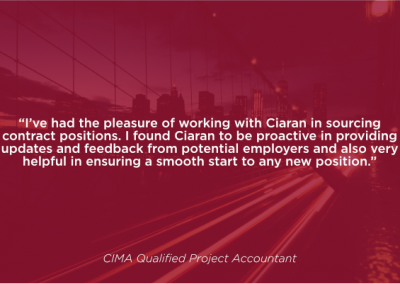 CIMA Qualified Project Accountant