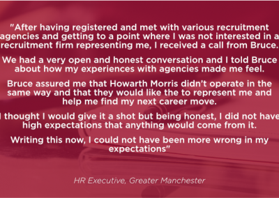 HR Executive Greater Manchester