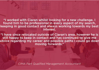 CIMA Part Qualified Management Accountant