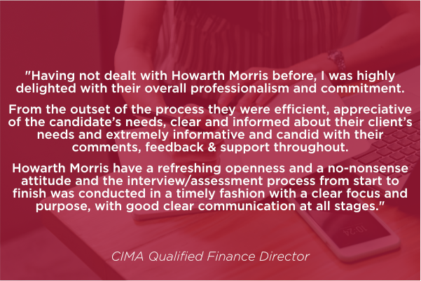 CIMA Qualified Finance Director