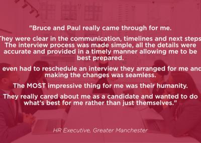 HR Executive, Manchester