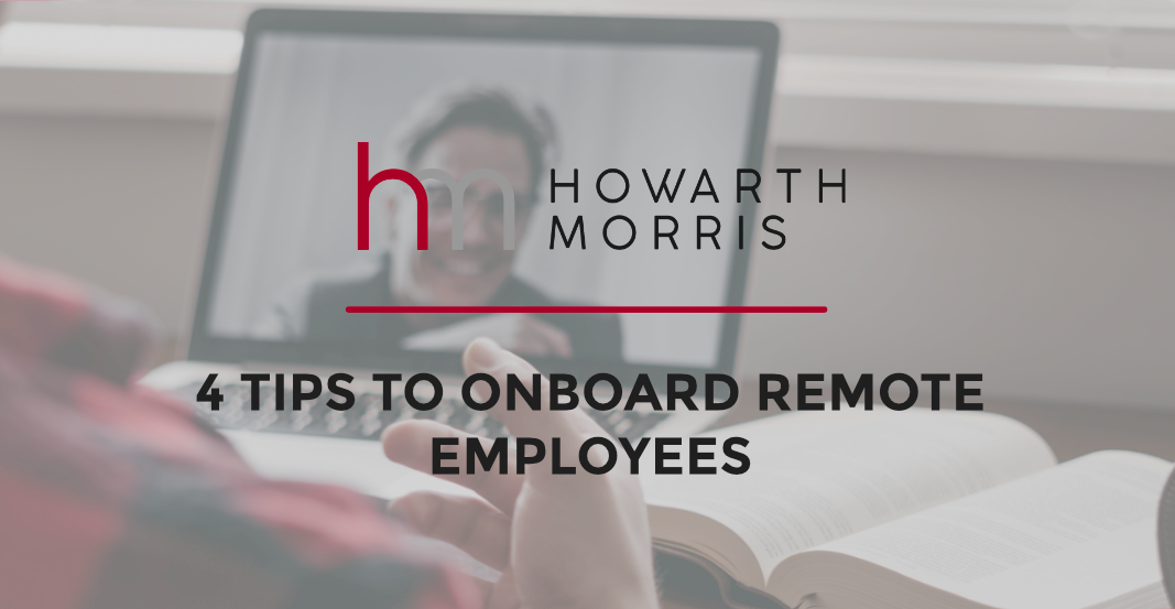 BLOG: 4 Tips to Onboard Remote Employees